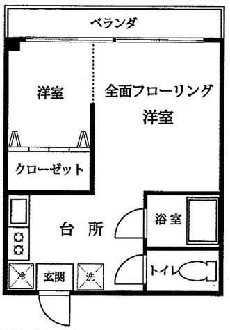 恵比寿ハイツ / 2階 部屋画像1