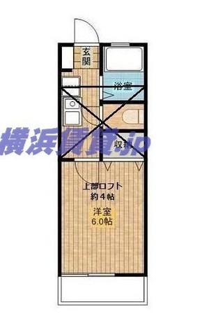 フラット戸塚深谷 / 2階 部屋画像1