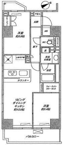 ファミール芝公園グランスイート・ラ・ヴィル / 9階 部屋画像1