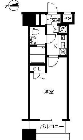 ヴィーダスカイコート品川 / 4階 部屋画像1
