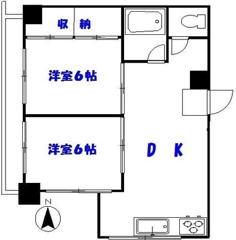 ニュー番衆ビル / 9階 部屋画像1