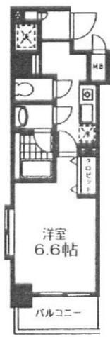 ロンスリー・ウエスト / 2階 部屋画像1