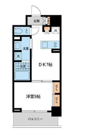 リエトコート元赤坂 / 5階 部屋画像1