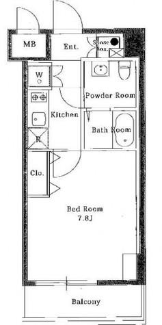 エスリード芝浦ベイサイド / 4階 部屋画像1
