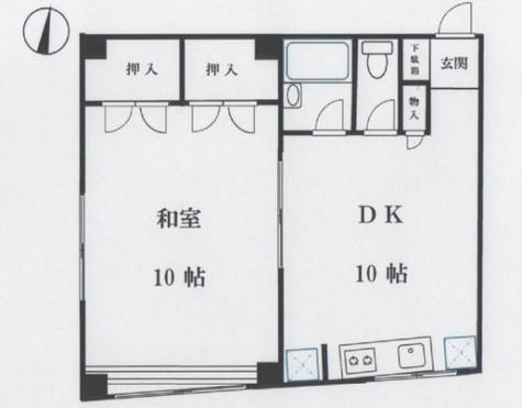 北品川YTビル / 5階 部屋画像1