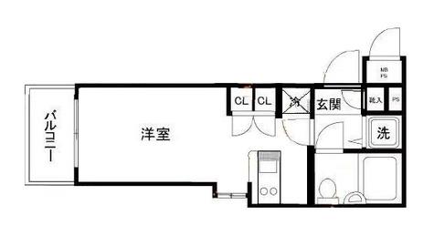 ワコーレ五反田 / 3階 部屋画像1