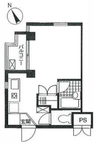 エスタディオN / 405 部屋画像1