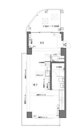 T-アクトⅡ(ティーアクトⅡ) / 3階 部屋画像1