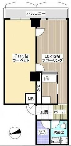 目黒西口マンション2号館 / 7階 部屋画像1