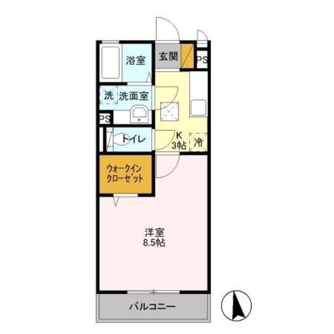 ウィステリア / 2階 部屋画像1