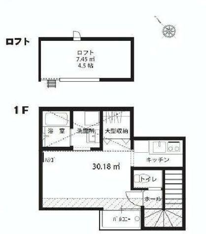 マクラーレン白金高輪 / 2階 部屋画像1