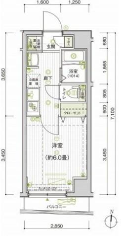 プレール・ドゥーク多摩川 / 2階 部屋画像1