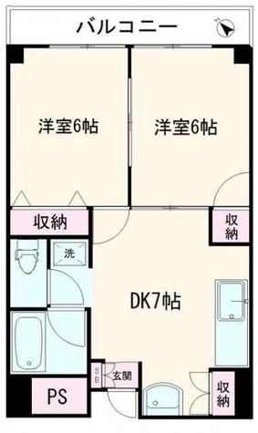 サンハイム五反田 / 4階 部屋画像1