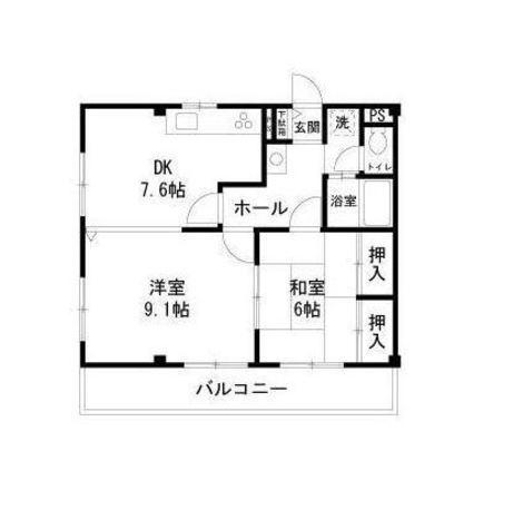 ビレッジヒル上大崎 / 3階 部屋画像1