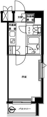 ルーブル白金高輪弐番館 / 3階 部屋画像1
