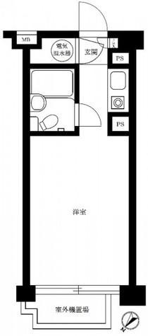 朝日虎ノ門マンション / 3階 部屋画像1
