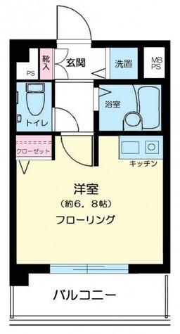 ロイヤルアメニティー大森 / 2階 部屋画像1