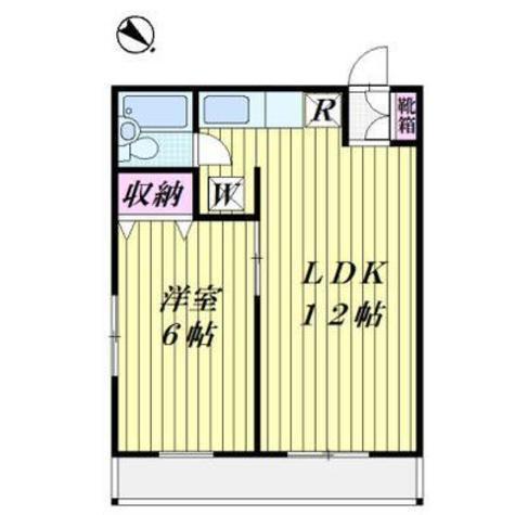 ビラセビリア / 2階 部屋画像1