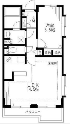 パレ・ソレイユ田園調布東 / 2階 部屋画像1