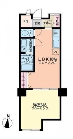 マンション南目黒苑 / 1階 部屋画像1
