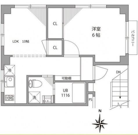 グランバリュー麻布十番 / 6階 部屋画像1