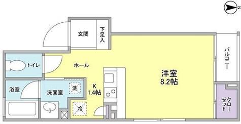 ソレーユ四谷三丁目 / 5階 部屋画像1
