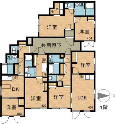 LAPiS四谷三丁目 / 4階 部屋画像1