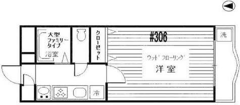 ホーヨー東京レジデンス四谷3丁目 / 3階 部屋画像1