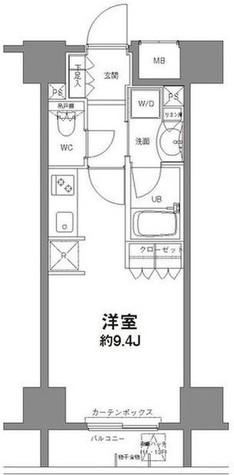 コンフォリア新宿御苑Ⅱ / 5階 部屋画像1