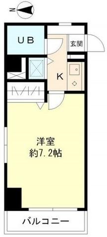 大井町タウンハウス / 3階 部屋画像1