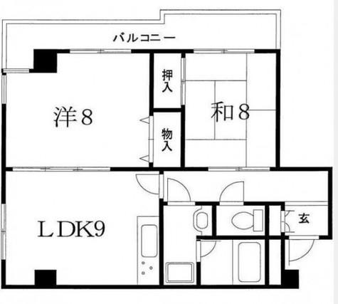 ストークマンション戸越公園 / 3階 部屋画像1