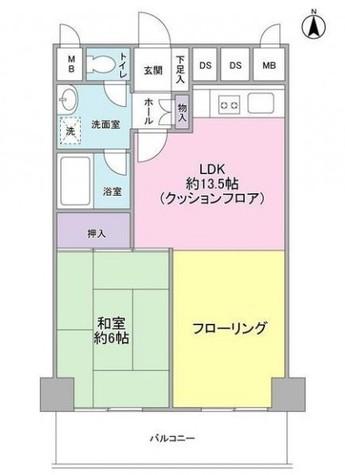 五反田サニーフラット / 5階 部屋画像1