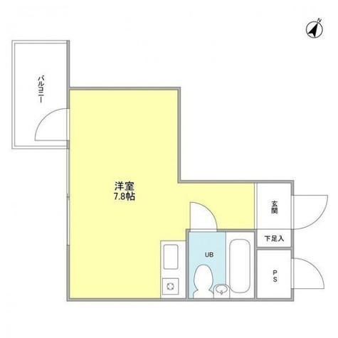 目黒ドーム / 4階 部屋画像1