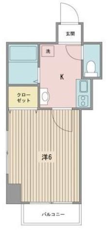アーバンライフ大井町 / 7階 部屋画像1