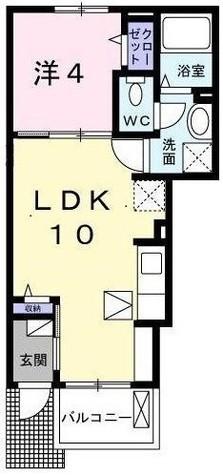 パヴァ-ヌ / 1階 部屋画像1