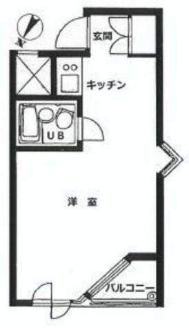 インペリアル赤坂フォーラム / 2階 部屋画像1