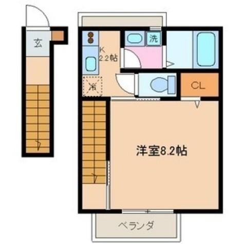 グリューネトゥール西大井 / 2階 部屋画像1