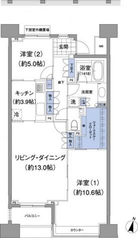 アビティ目黒 / 604 部屋画像1