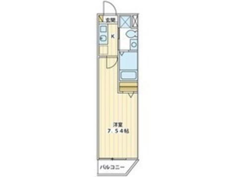 プラージュ白金台 / 2階 部屋画像1