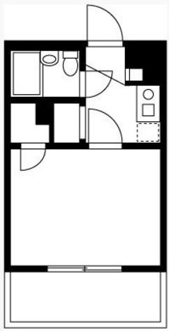 ヒルサイドビル3 / 106 部屋画像1