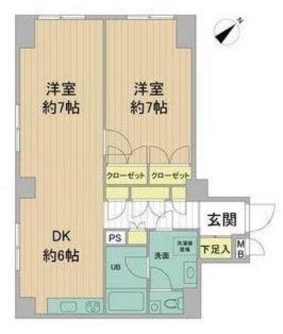 田園アカデミーマンション / 205 部屋画像1