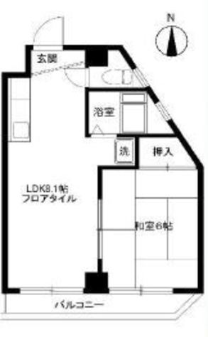 プティ白金 / 3階 部屋画像1