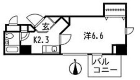 キャッスル南品川 / 402 部屋画像1
