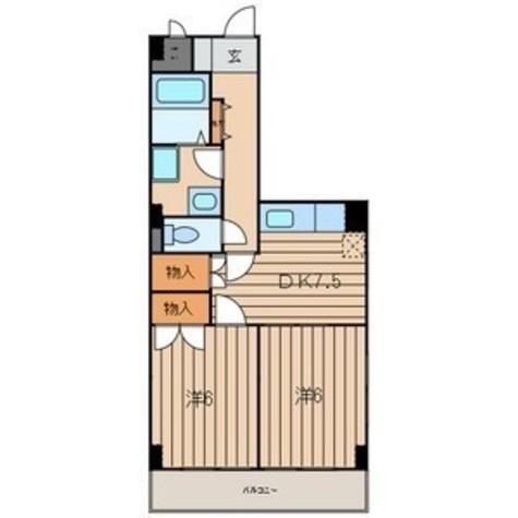 ロードプラザITO / 206 部屋画像1