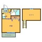 ハピネス小金井 / 202 部屋画像1