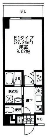 バレーヌ大森山王 / 207 部屋画像1