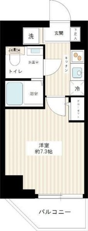 スパシエソリデ横浜鶴見 / 408 部屋画像1