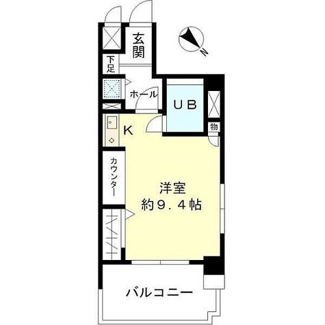東建シティハイツ鶴見中央 / 605 部屋画像1