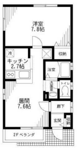 ソレアード / 1階 部屋画像1