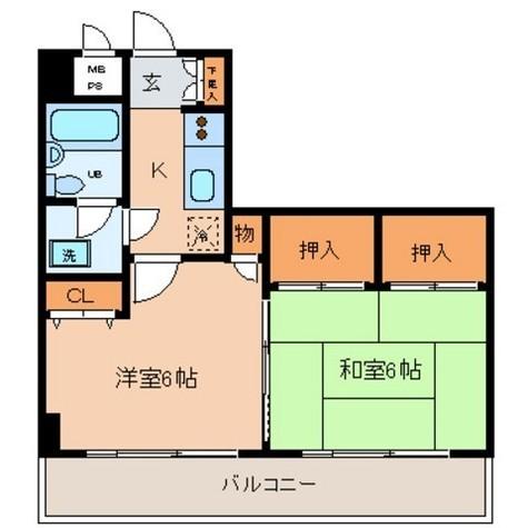日神パレス吉野町 / 706 部屋画像1